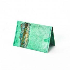 Porte-cartes en cuir végétal Peau de...
