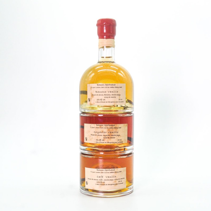 Rhum arrangé artisanal triple saveurs