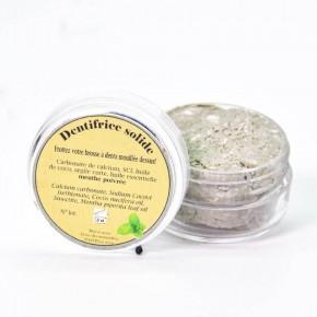 Dentifrice solide 100% naturel Menthe poivrée - Bulbul De Bourbon
