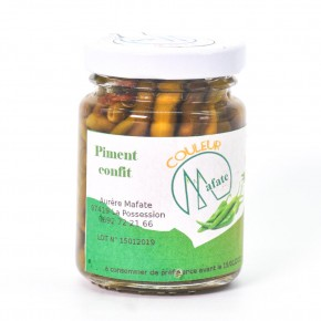 Piment confit Reunion - Couleur Mafate