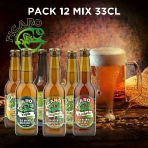 Pack Bière Réunion Picaro - Mix