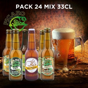Pack Bière Réunion Picaro La Buse - Mix