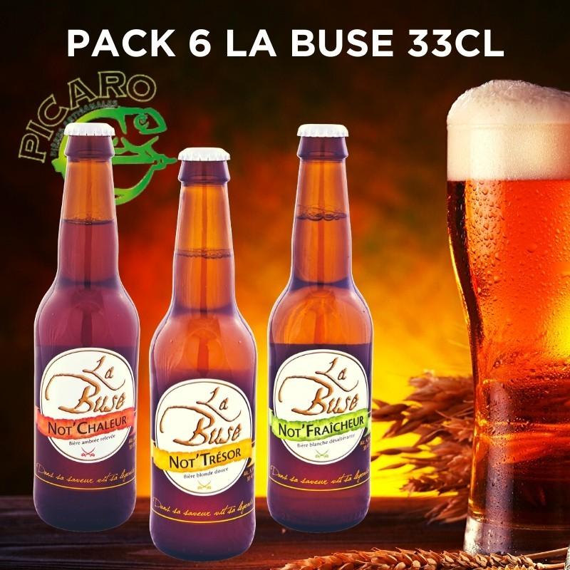 Pack Bière aromatisée Réunion Picaro La Buse