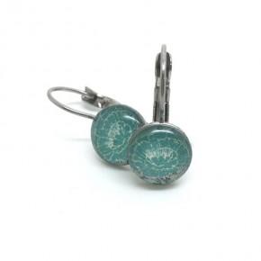 Boucles d'oreilles dormeuses artisanales - CKomça