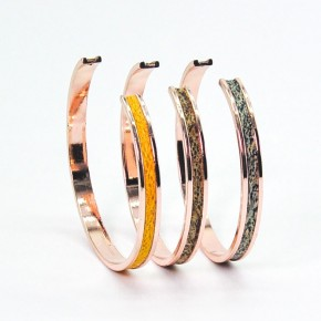 Bracelet Jonc - largeur 1cm - Lafécafé