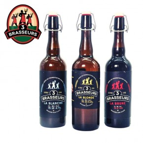 Bière Réunion Pack Les 3 Brasseurs