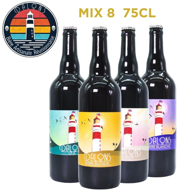 Pack Bière Péi - Dalons - IPA - Blanches - Blondes - Stout