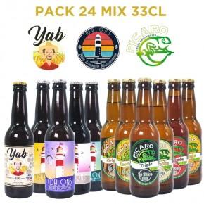 Bière Reunion Pack Mix Dalons Picaro Yab
