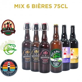 Bière Reunion Pack Mix - MIX 6 75CL...