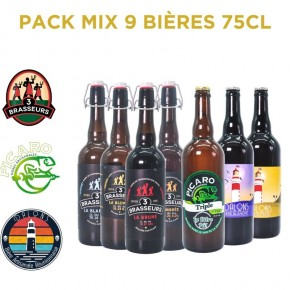Bière Reunion Pack Mix - MIX 9 75CL...