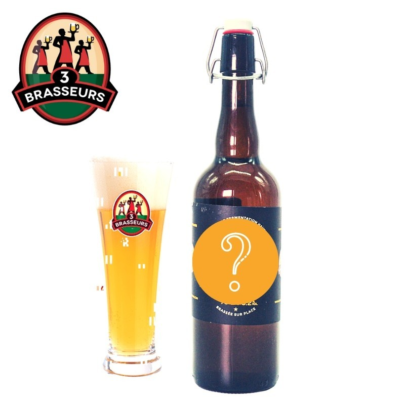 Bière du mois 3 Brasseurs 75cl