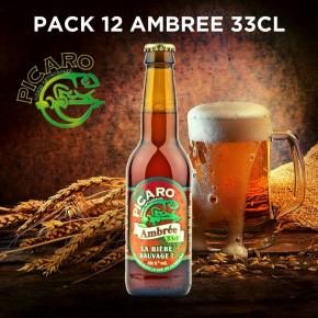 Pack Picaro Ambrée - 12 bières