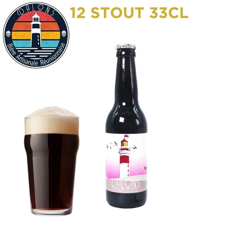 Pack Dalons Stout - 12 bières