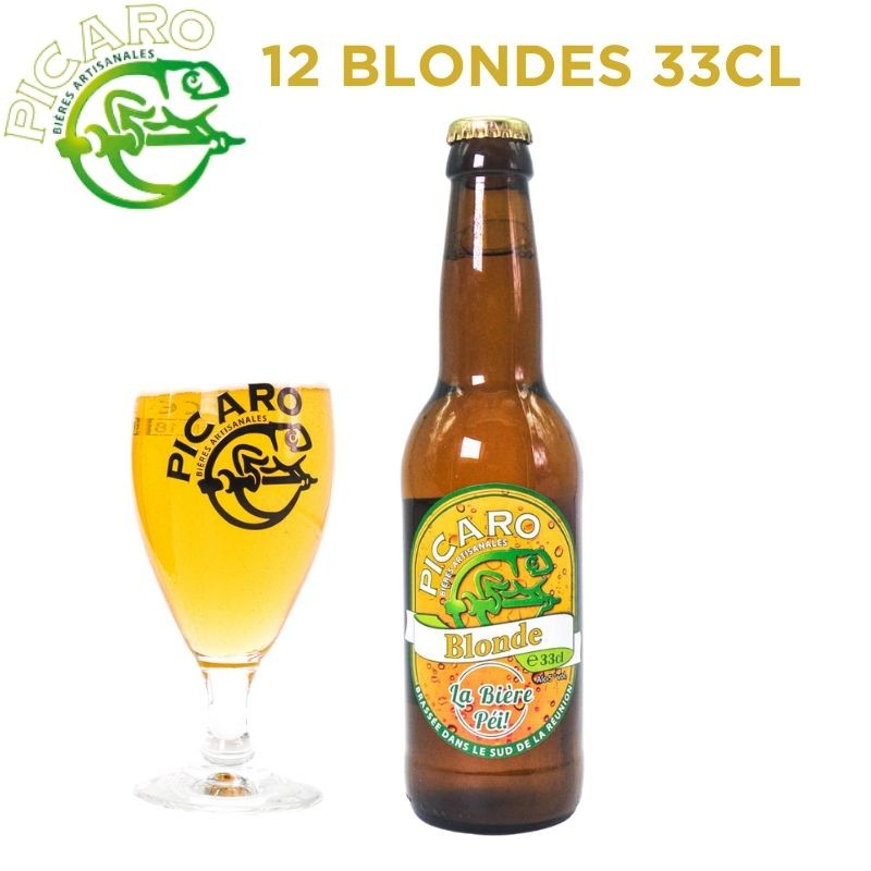Pack Picaro Blonde - 12 bières