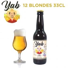 Pack Yab Blonde - 12 bières