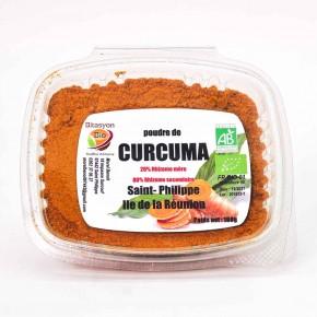 Poudre de Curcuma Saint philippe Réunion