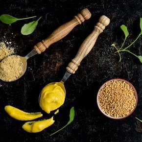 Graine de moutarde jaune de La Réunion