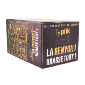 Box découverte brasserie noire - Calendrier de l'avent 24 bières Péi - Typiik.com