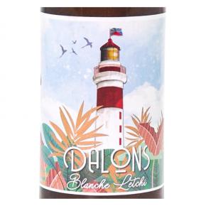 Bière Blanche letchi Dalons