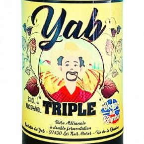 bière triple brasserie du Yab