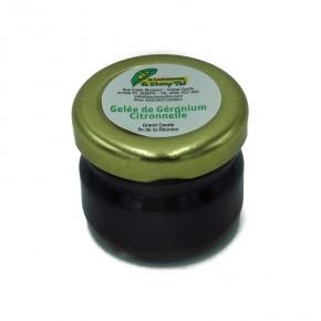 Gelée Géranium Citronnelle Bio