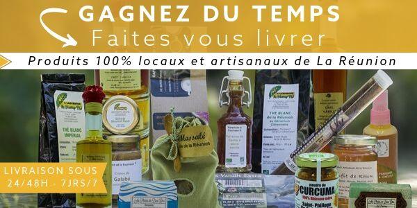 Livraison de produits locaux à La Réunion