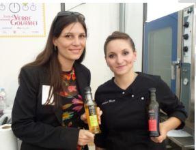 Noëmie Honiat, Top Chef 2012 et Gwenn Atheaux, fondatrice de Nature d'ici et d'Ailleurs